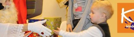 Sinterklaas is ook bij KiKa geweest
