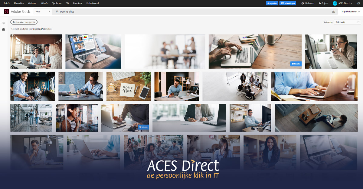 Adobe Stock producten
